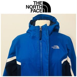 Authentic North Face Coat + Fleece Jacket Lining